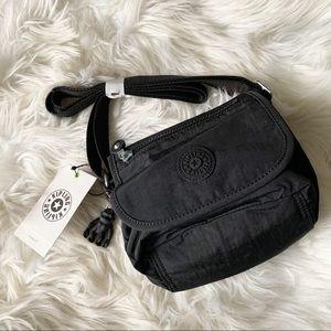 Kipling Sabian Crossbody Mini Bag Black NWT